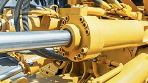 How does hydraulic cylinder help in repairing work?